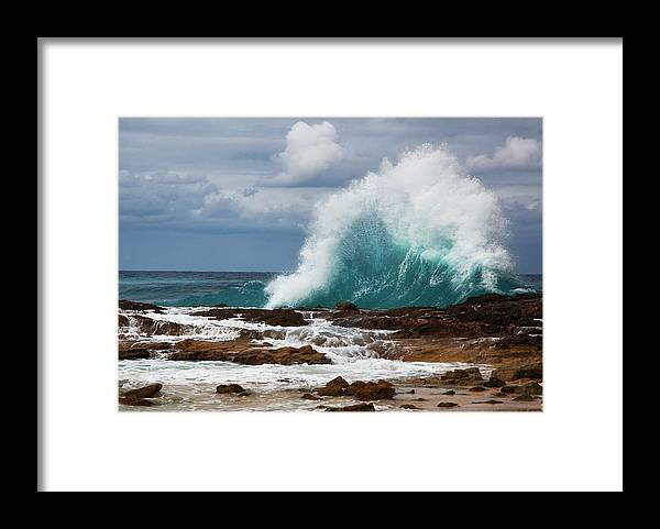 Wave Framed Print featuring the photograph Wave by Bruce Beck