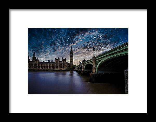 Westminster Framed Print featuring the photograph Westminster Bridge by Martin Newman
