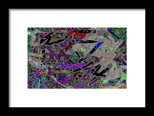 Jgyoungmd Framed Print featuring the digital art 30610 by Jgyoungmd Aka John G Young MD