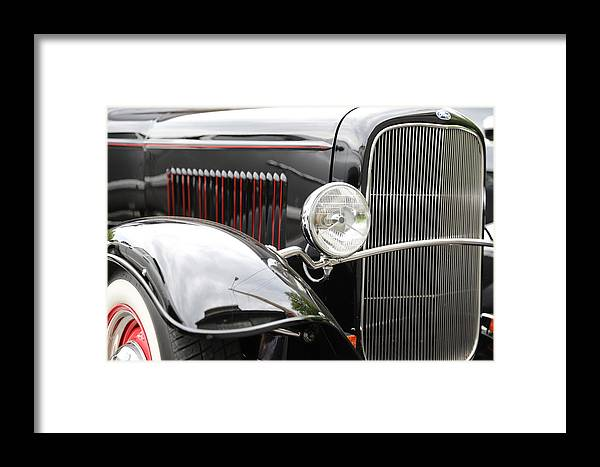 Ford Framed Print featuring the photograph '32 Ford by Charles Van Wagenen Jr
