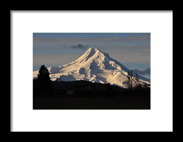Mountain Framed Print featuring the photograph Mountain by FL collection