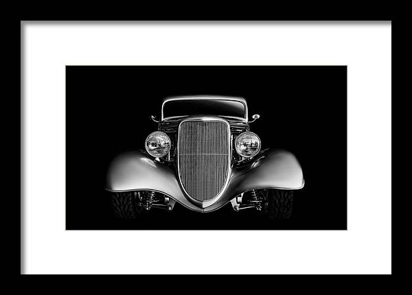 Transportation Framed Print featuring the digital art '33 Ford Hotrod by Douglas Pittman