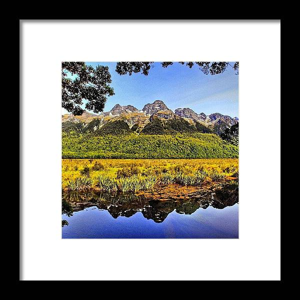 Framed Print featuring the photograph Instagram Photo by Tommy Tjahjono