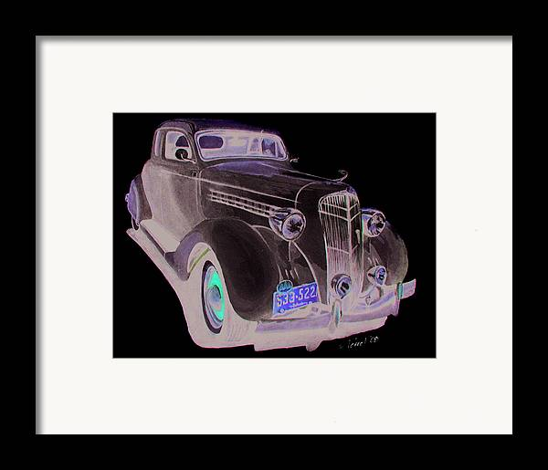 Desoto Framed Print featuring the painting 35 Desoto by Ferrel Cordle