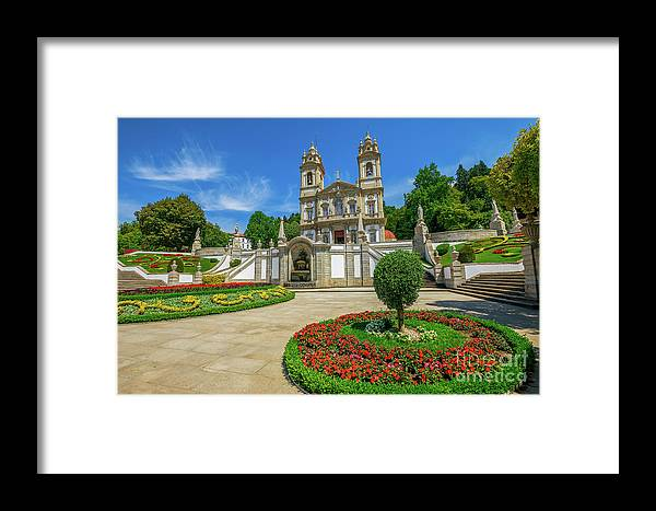 Braga Framed Print featuring the photograph Braga Sanctuary Portugal by Benny Marty