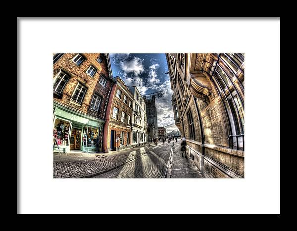 Cambridge Framed Print featuring the photograph Cambridge by KonTrasts
