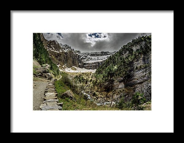 Oad Framed Print featuring the photograph Cirque De Gavarnie by Tilyo Rusev