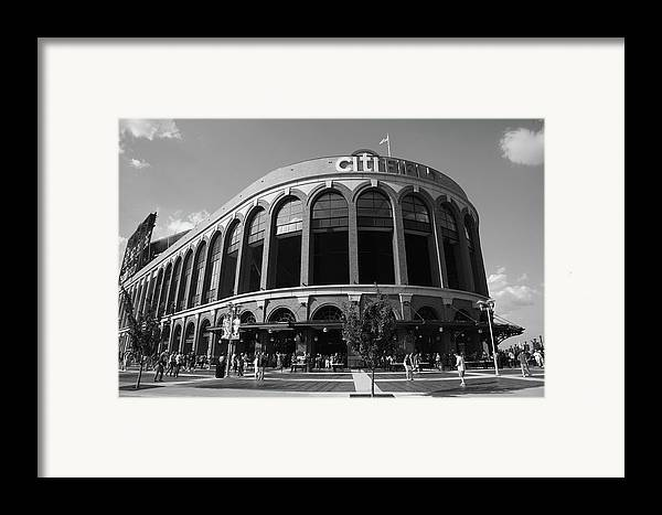 Arch Framed Print featuring the photograph Citi Field - New York Mets by Frank Romeo