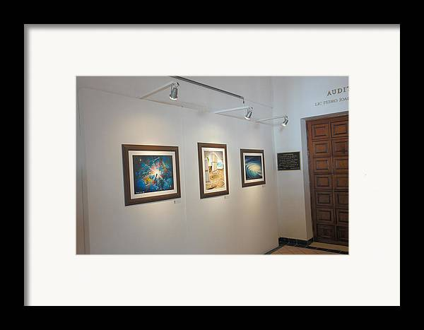 Exhibition Cozumel Museum Framed Print featuring the photograph Exhibition Cozumel Museum by Angel Ortiz