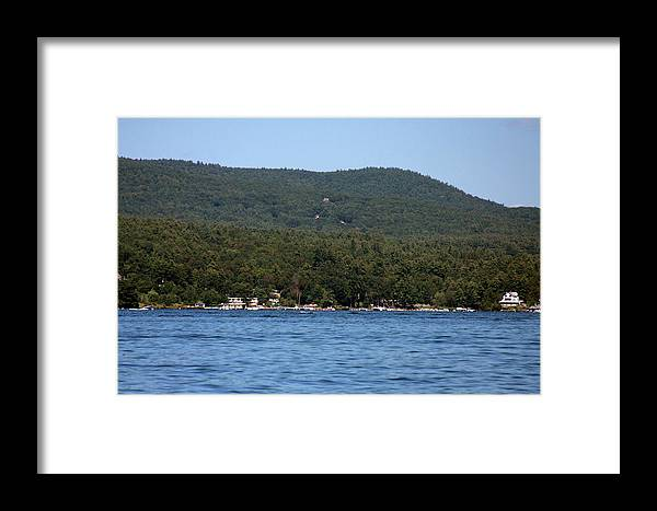 Lake Framed Print featuring the photograph Lake George New York by Vadim Levin