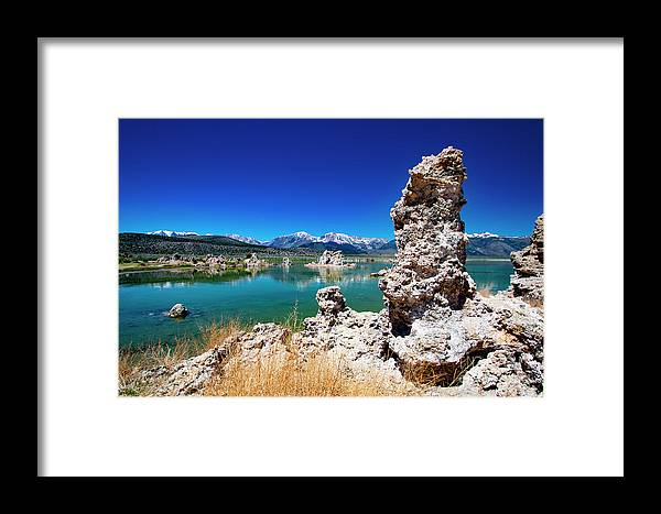 Tufa Formations Framed Print featuring the photograph Mono Lake Tufa by Mark Jackson