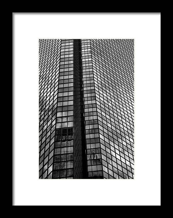Reflections Framed Print featuring the photograph Reflective Glass And Metal Building by Robert Ullmann
