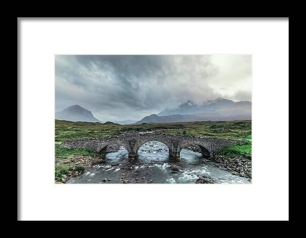 Sligachan Framed Print featuring the photograph Sligachan - Isle Of Skye by Joana Kruse