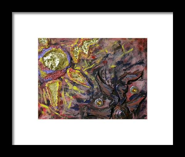 Trippy Framed Print featuring the painting Untitled by Dylan Chambers