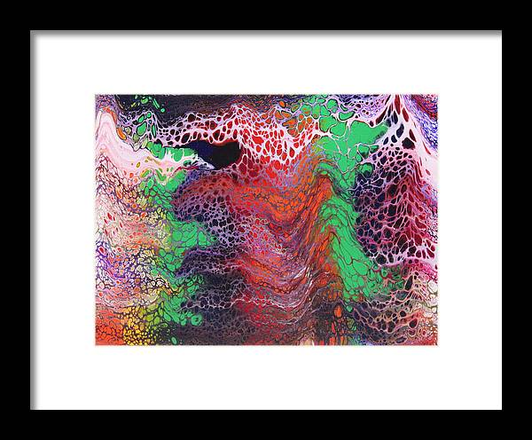 Framed Print featuring the painting Untitled by Joe Fomby
