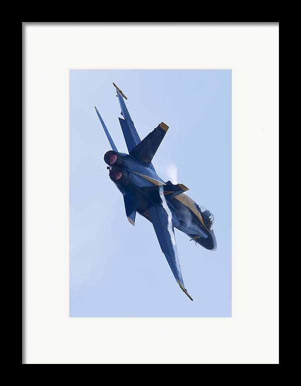 Us Navy Framed Print featuring the photograph Us Navy Blue Angels Poster by Dustin K Ryan
