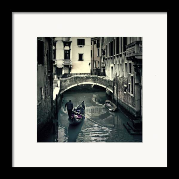 San Marco Framed Print featuring the photograph Venezia by Joana Kruse