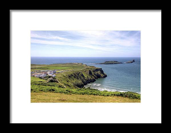 Wales Uk Framed Print featuring the photograph Wales Uk by Paul James Bannerman