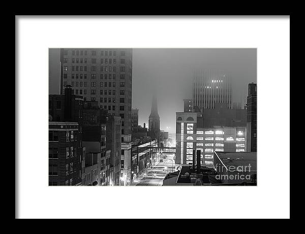 Framed Print featuring the photograph 4112 by Chuck Alaimo