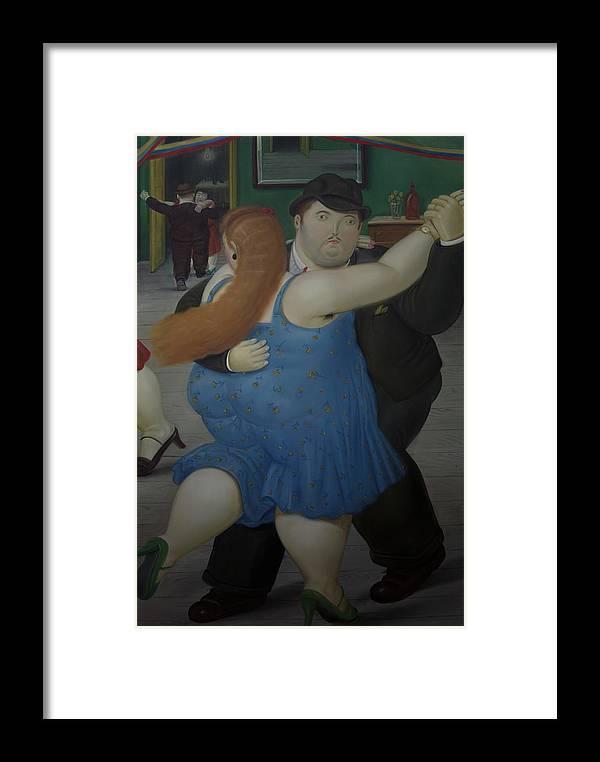Bogota Framed Print featuring the digital art Bogota Museo Botero by Carol Ailles
