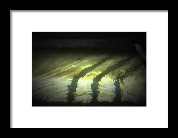 Abstract Framed Print featuring the photograph 48 by Garth Pillsbury