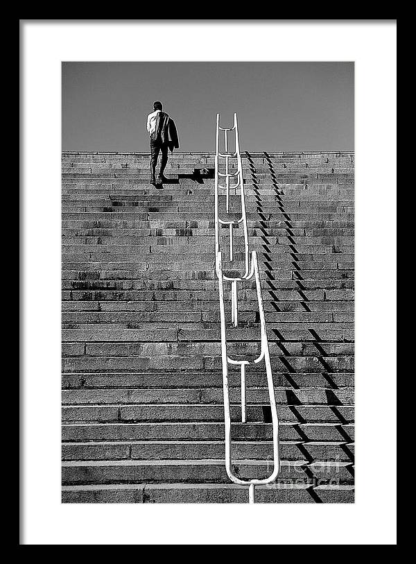 People Framed Print featuring the photograph Untitled by Vadim Grabbe