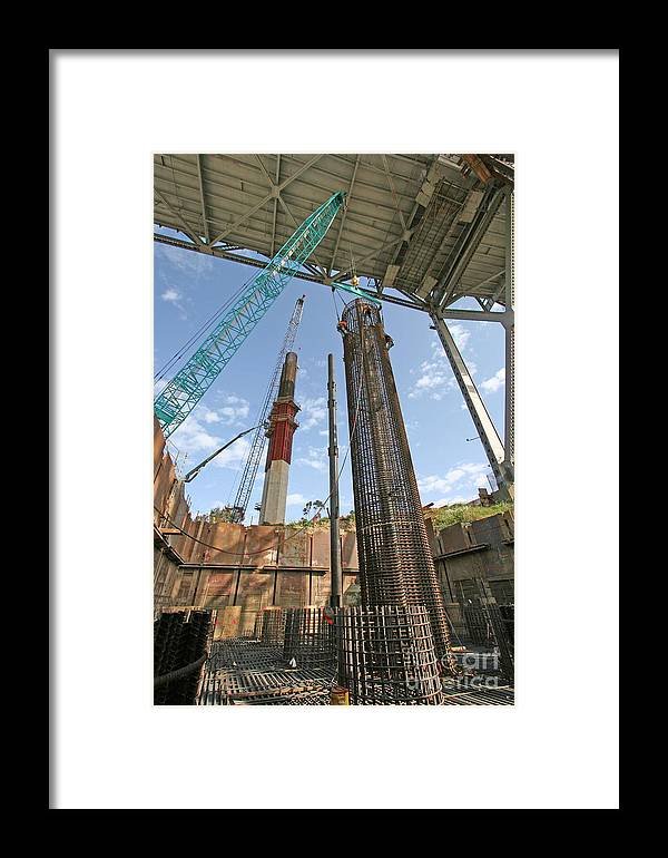 Bridges Framed Print featuring the photograph 4rfooting by Jerry Patchin