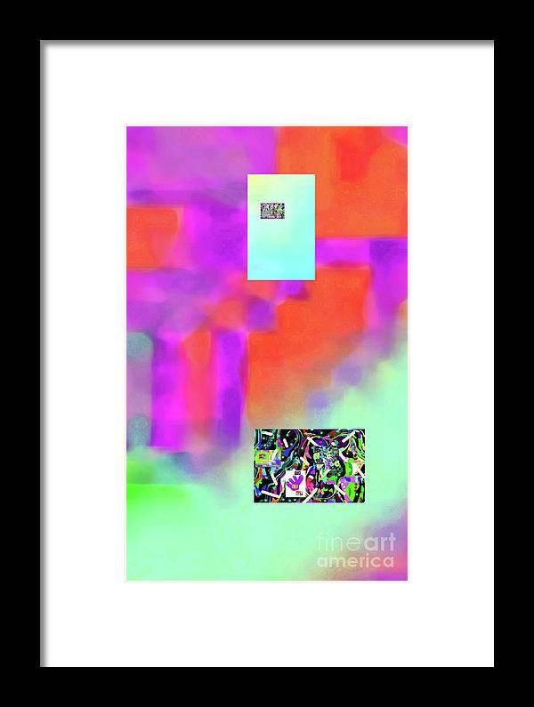 Walter Paul Bebirian Framed Print featuring the digital art 5-14-2015fabcdefghijklmnopqrtuv by Walter Paul Bebirian