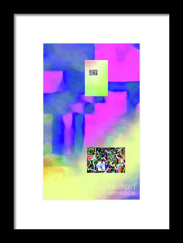 Walter Paul Bebirian Framed Print featuring the digital art 5-14-2015fabcdefghijklmnopqrtuvwxyzabcd by Walter Paul Bebirian