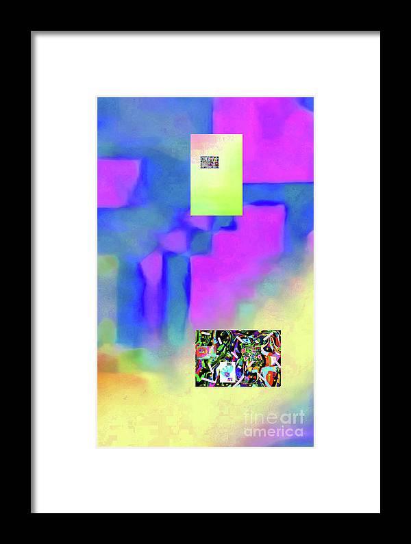 Walter Paul Bebirian Framed Print featuring the digital art 5-14-2015fabcdefghijklmnopqrtuvwxyzabcde by Walter Paul Bebirian