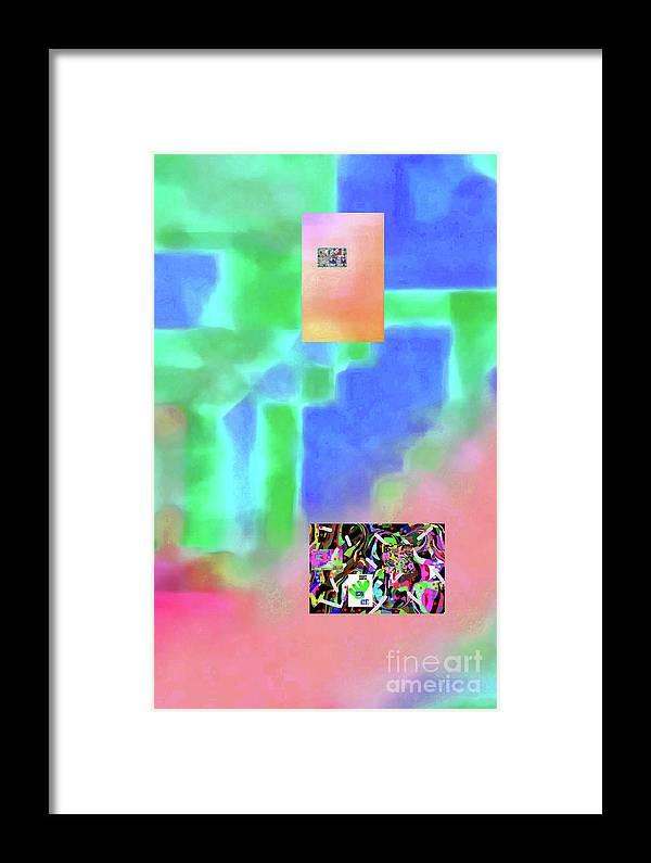 Walter Paul Bebirian Framed Print featuring the digital art 5-14-2015fabcdefghijklmnopqrtuvwxyzabcdefghijk by Walter Paul Bebirian