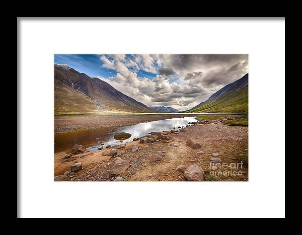 Loch Etive Framed Print featuring the photograph Loch Etive by Smart Aviation