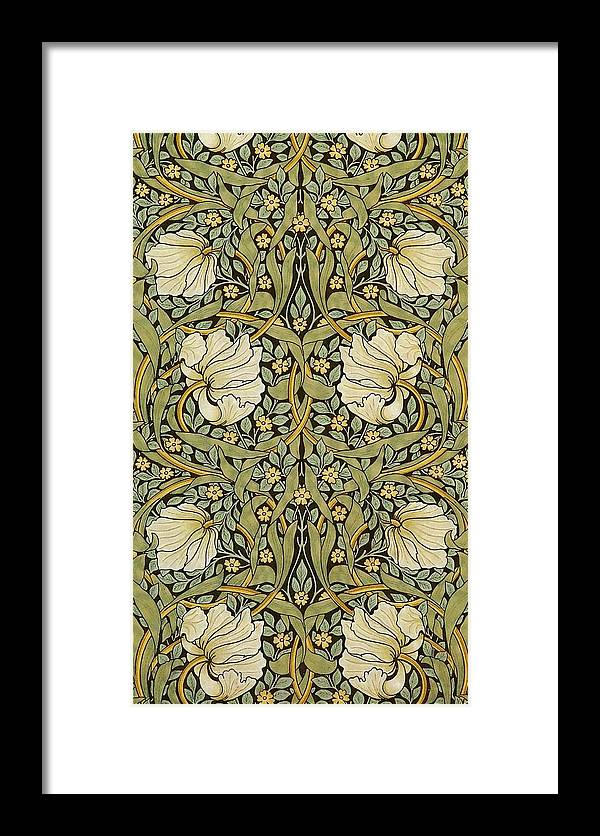 William Morris Framed Print featuring the painting Pimpernel by William Morris