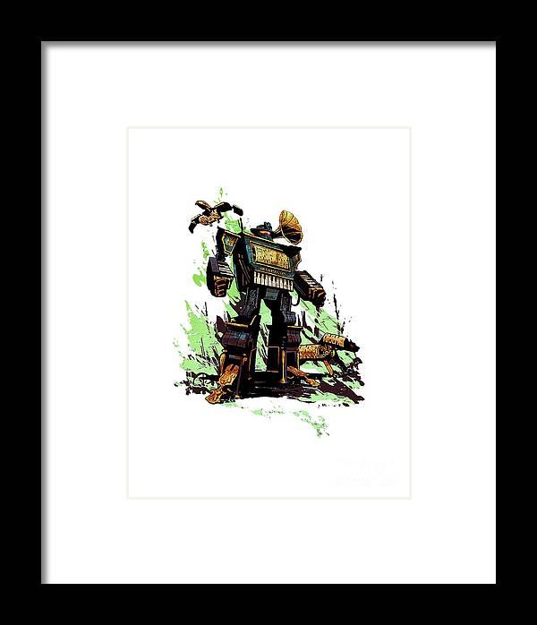 Steampunk Framed Print featuring the digital art Steampunk by Tarry Mundur