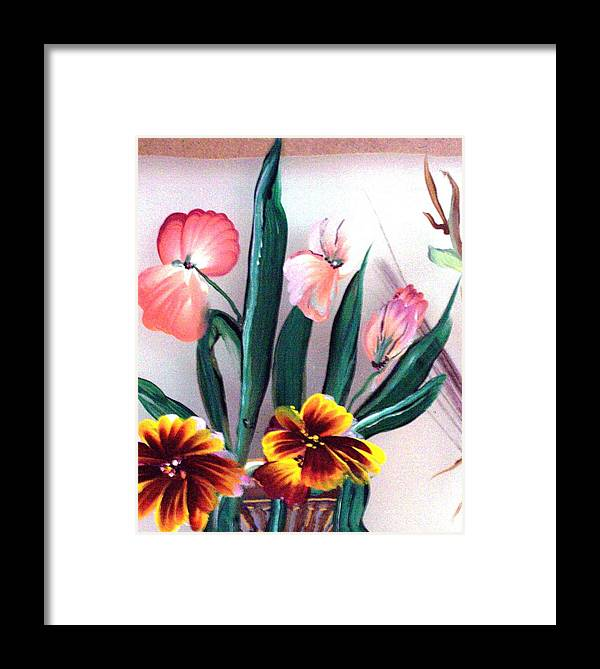 Flower Framed Print featuring the print Untitled by Beverly Baxter