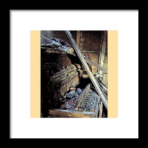 Lp Cover Art Framed Print featuring the photograph Your Band Name Here Lp Cover Art by Everett Bowers