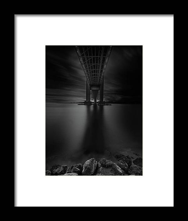 50s Framed Print featuring the photograph 50 Shades Of Verrazano by Edgars Erglis