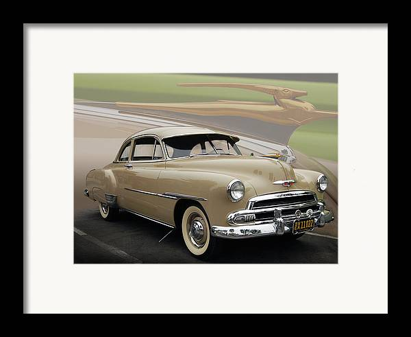 51 Framed Print featuring the photograph 51 Chevrolet Deluxe by Bill Dutting