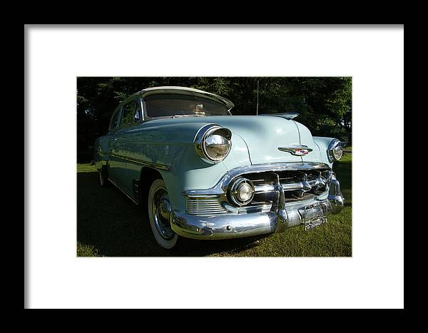 53 Chevy Framed Print featuring the photograph 53 Chevy by John Pierce Jr