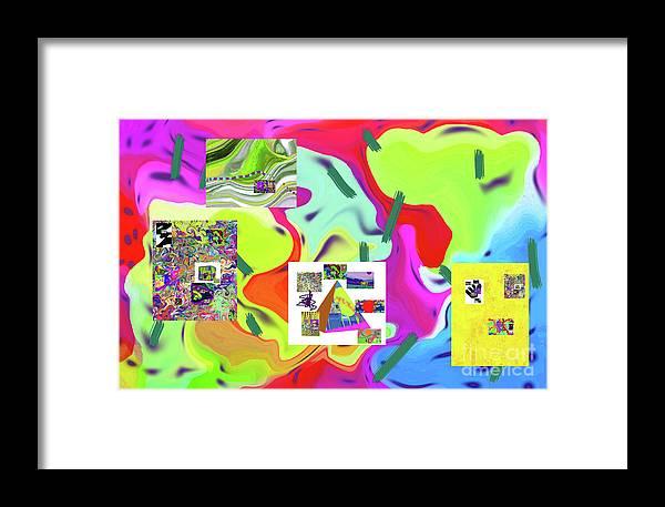 Walter Paul Bebirian Framed Print featuring the digital art 6-19-2015dabcdefghijklmnopqrtuvwxyz by Walter Paul Bebirian