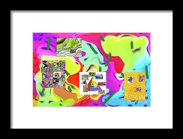 Walter Paul Bebirian Framed Print featuring the digital art 6-19-2015dabcdefghijklmnopqrtuvwxyza by Walter Paul Bebirian