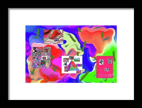 Walter Paul Bebirian Framed Print featuring the digital art 6-19-2015dabcdefghijklmnopqrtuvwxyzabcdefgh by Walter Paul Bebirian