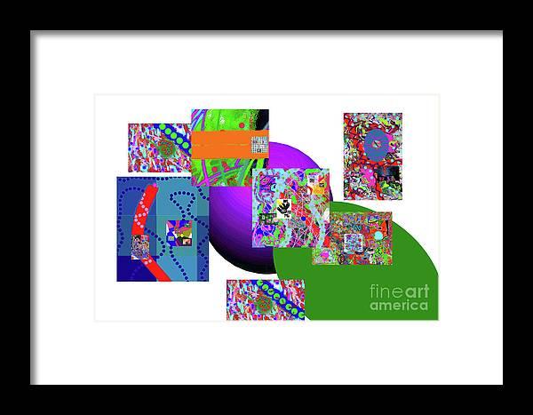 Walter Paul Bebirian Framed Print featuring the digital art 6-20-2015gabcdefghijklmnopqrtuvwxyzabcdefg by Walter Paul Bebirian
