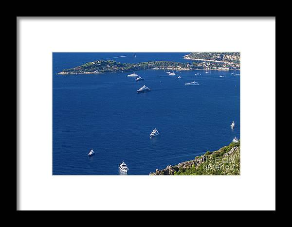Èze Framed Print featuring the photograph Eze, Alpes-maritimes Department, France by Ohad Shahar
