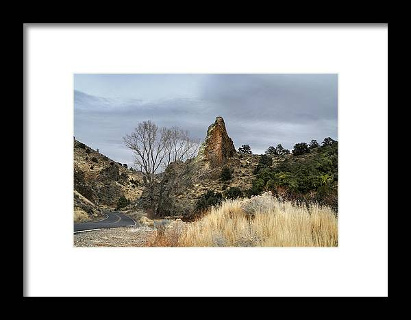 6 Mile Canyon Framed Print featuring the photograph 6 Mile Canyon Drive-2241-r2 by Karen W Meyer
