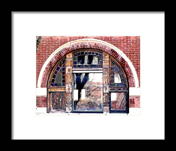Windows Framed Print featuring the photograph Window Series by Ginger Geftakys