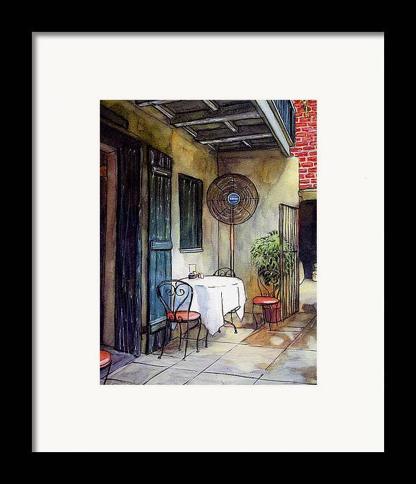 Napoleon House Framed Print featuring the painting 61 by John Boles