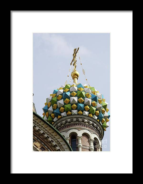 Church Framed Print featuring the photograph Church Of The Savior On Spilled Blood by Vladi Alon
