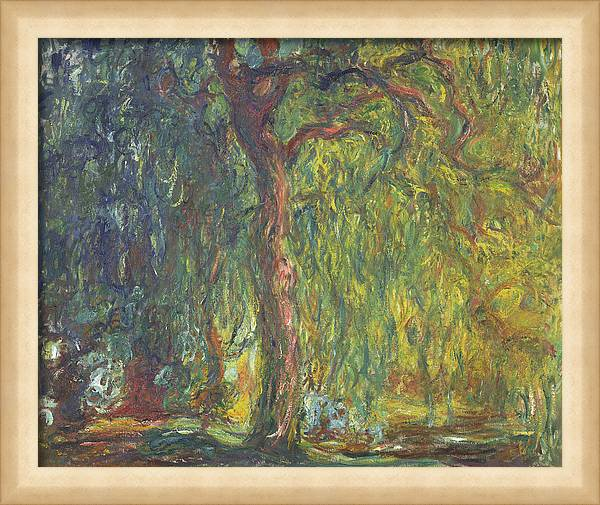 Weeping Willow by Claude Monet
