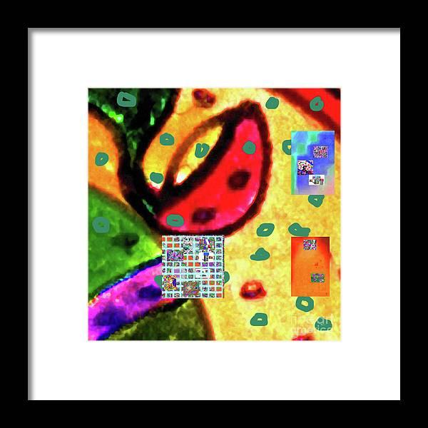 Walter Paul Bebirian Framed Print featuring the digital art 8-3-2015cabcdefghijklmnopqrtuvwxyzabcde by Walter Paul Bebirian